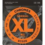 D'Addario ECG26 Chromes Flat Wound Medium_