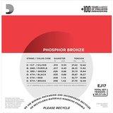 D'Addario EJ17 Phosphor Bronze Medium 13-56_