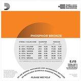 D'Addario EJ15 Phosphor Bronze Extra Light 10-47_