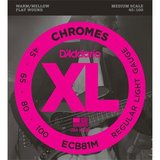 D'Addario ECB81M Chromes Bass Regular Light 45-100_