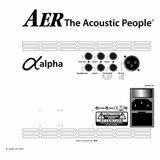 AER Alpha Plus 50 Watt akoestische-gitaarversterker_