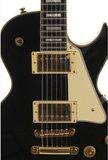 Morgan Guitars LP43 Standard Black - Les Paul Model - Elektrische gitaar_