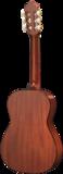 Artesano Estudiante Spaanse gitaar achterkant 3/4