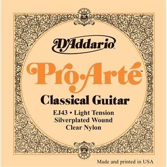 D'Addario EJ43 Pro-Arte Classical Light Tension Clear Nylon