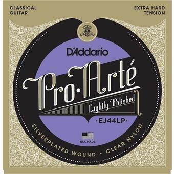 D'Addario EJ44LP Pro-Arte LP Composite Extra-Hard Tension Clear