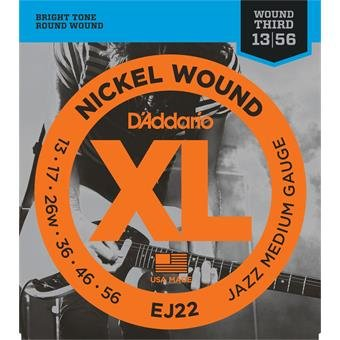 D'Addario EJ22 Jazz Medium