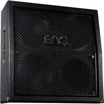Engl 4x12 Black PRO Slanted E412 VSB