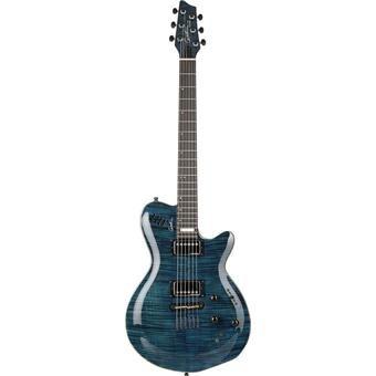 Godin Signature LGX SA Flame AA Trans Blue