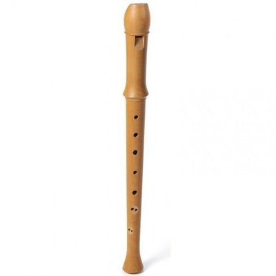 Aura S1 sopraanblokfluit perenhout, barokboring, dubbele boring
