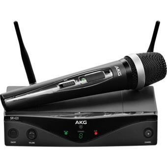 AKG WMS420 Wireless Microphone System Band D