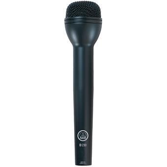 AKG D230 High-Performance Dynamic ENG Microphone