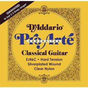 D'Addario EJ46C Hard Tension Composites Classical Guitar Strings