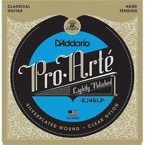 D'Addario EJ46LP Pro-Arte LP Composite Hard Tension Clear Nylon