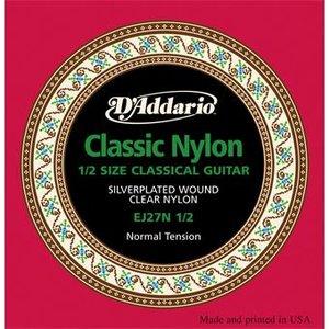 D'Addario EJ27N 1/2 Normal Tension Student Classical Guitar