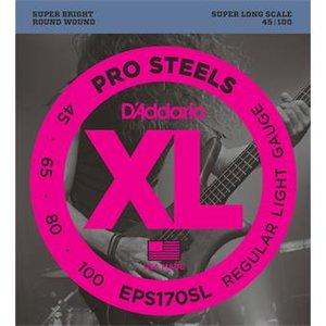 D'Addario EPS170SL ProSteels Bass Regular Light Super Long 45-100