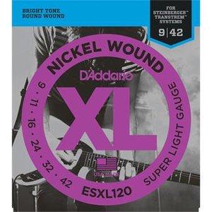 D'Addario ESXL120 Super Light Double BallEnd