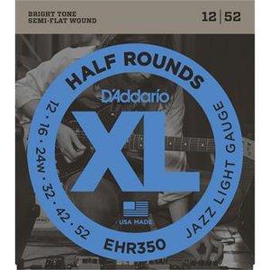 D'Addario EHR350 Half Rounds Jazz Light