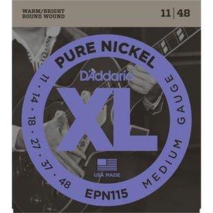 D'Addario EPN115 Pure Nickel Blues Jazz Rock