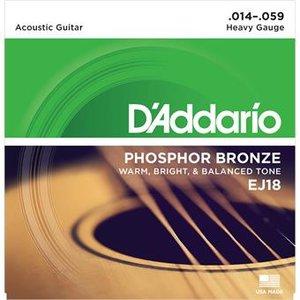 D'Addario EJ18 Phosphor Bronze Heavy 14-59