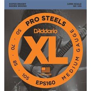 D'Addario EPS160 ProSteels Bass Medium 50-105
