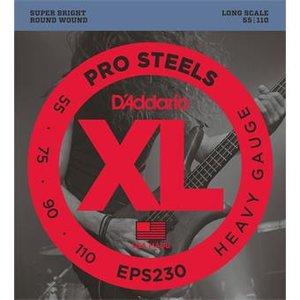 D'Addario EPS230 ProSteels Bass Heavy 55-110