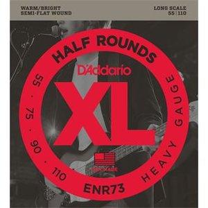 D'Addario ENR73 Half Rounds Bass Heavy 55-110
