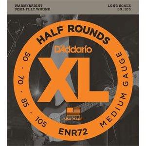 D'Addario ENR72 Half Rounds Bass Medium 50-105