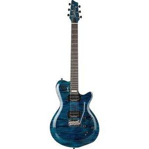 Godin Signature LGXT SA Flame AAA Trans Blue