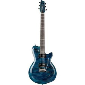 Godin Signature LGXT SA Flame AA Trans Blue