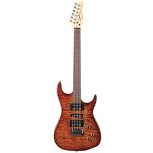 Godin Freeway SA Light Burst Flame