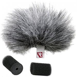 Rycote Lavalier Furry Windjammer grijs