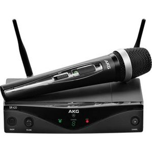 AKG WMS420 Wireless Microphone System Band A