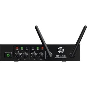 AKG DSR70 Dual Two Channel Receiver