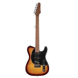 Morgan Guitars TL550 Flamed Maple