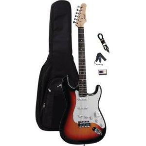 Morgan Guitars ST250 Sunburst Guitar Pack