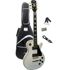 Morgan Guitars LP 40 Pack White