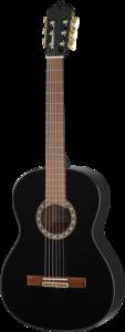 ARTESANO Klassieke gitaar, Estudiante XC-4/4, Halslengte: 65cm, zwart